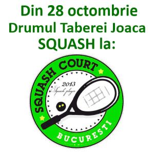 Squash Court Bucuresti din 28 octombrie