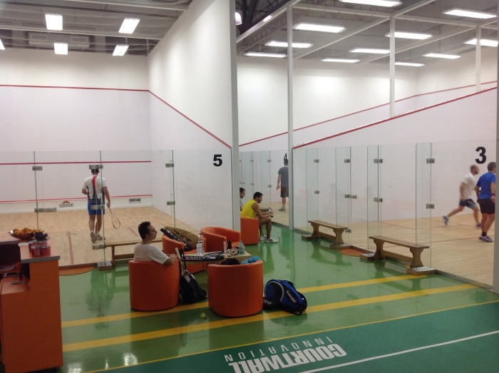 terenuri de squash acreditate Aerosquash Baneasa