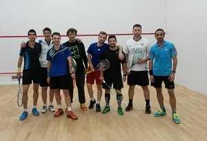 selectie reprezentativele Romaniei la squash - baieti