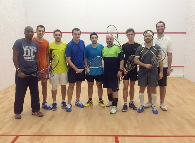 Squash Training Boot Camp, cu Ollie Olabinri