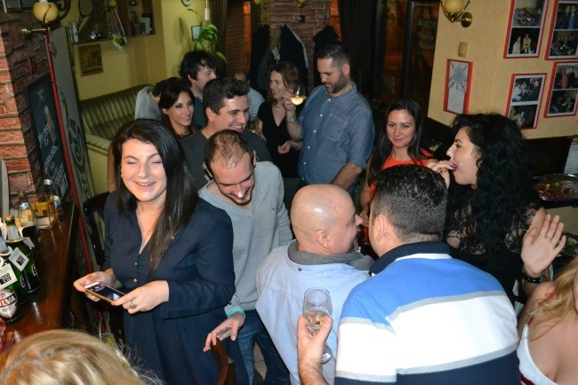squashmania x-mas party action