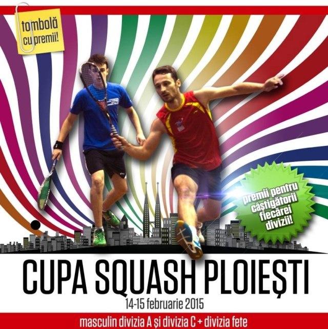cupa squash ploiesti pe 14 februarie