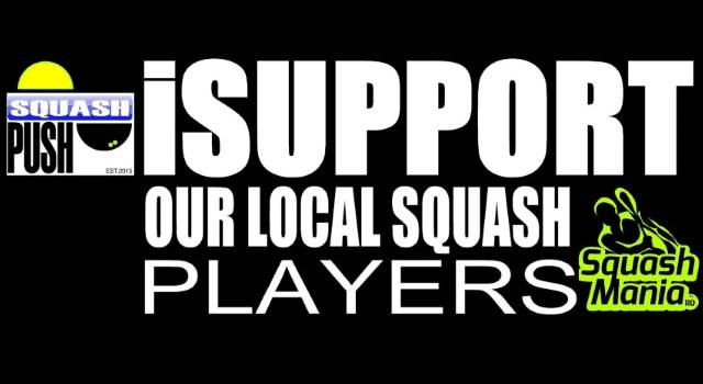 iSUPPORT Our Local Squash Players sustinut de SquashMania