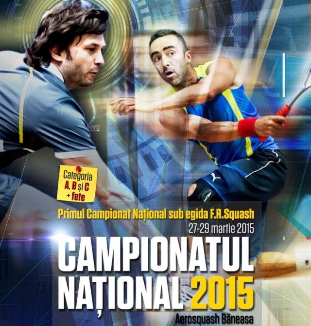 Campionatul national de squash 2015