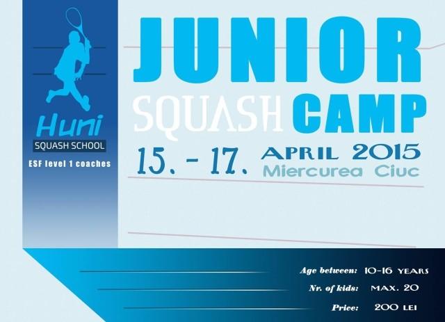junior squash camp - miercurea ciuc