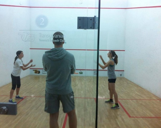 junior squash camp - huni squash school