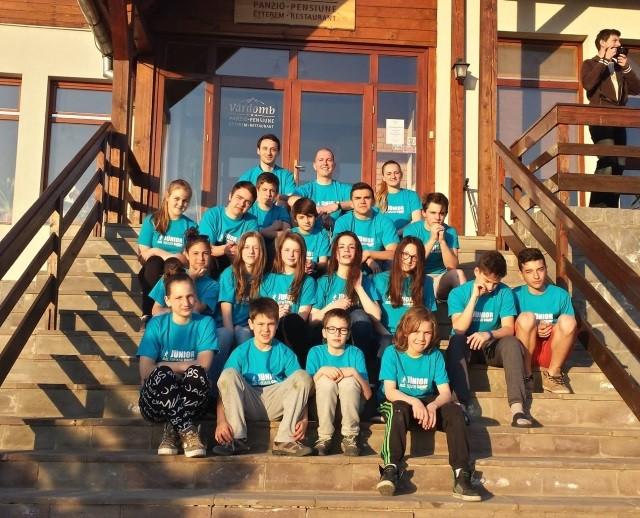 junior squash camp - huni squash school - primele impresii