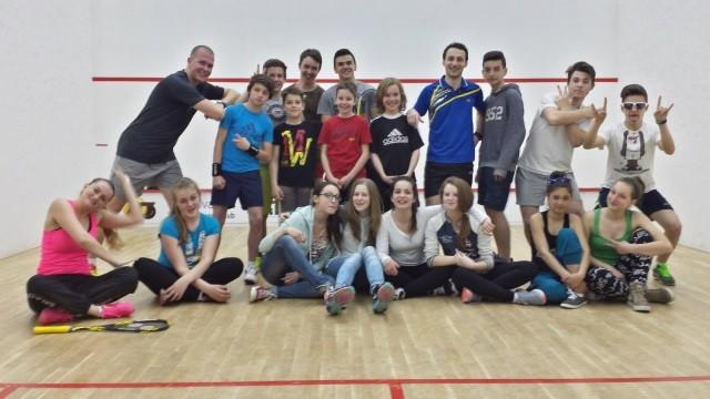 primul proiect huni squash school