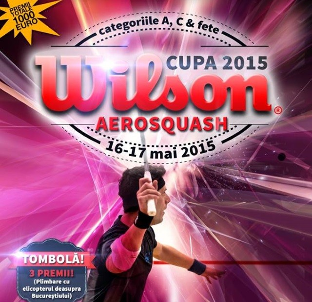 cupa wilson aerosquash 2015 Bucuresti