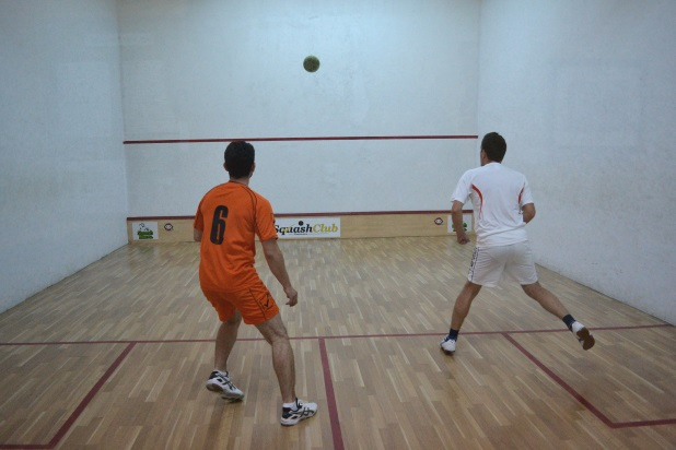 fotbal squash la squash club timisoara