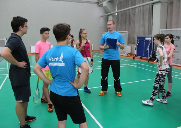 junior squash summer camp 2015 - start