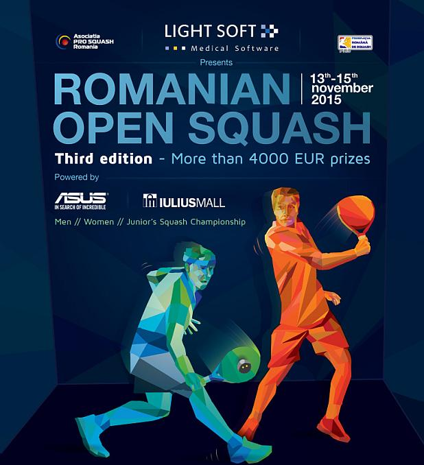 light soft romanian open squash 2015 - squashmania
