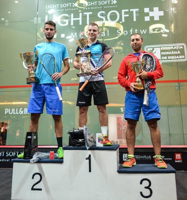 Campionii Romanian Open Squash 2015 - categ A