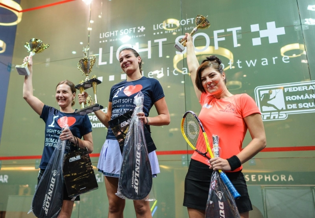 Campionii romanian open squash 2015 - senioare