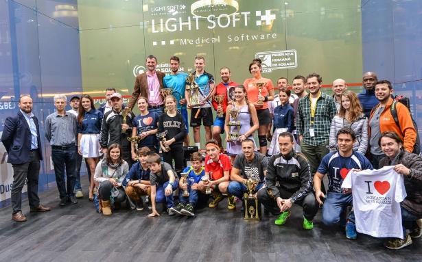 campionii Romanian Open Squash 2015