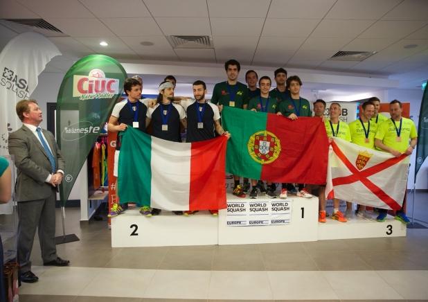 Campionatul European de Squash pe Echipe - div 3 - masculin
