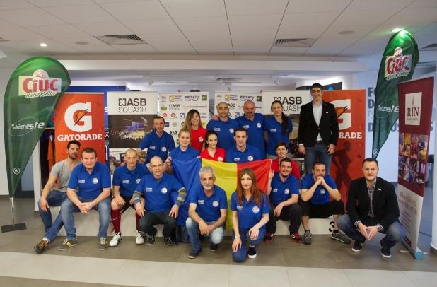 Campionatul European de Squash pe Echipe - div 3 - muncitorii